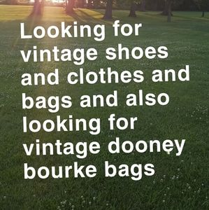 Looking for vintage